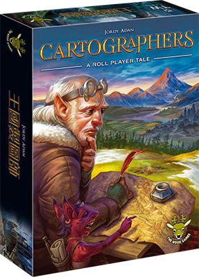 Cartographers: A Roll Player Tale 王國製圖師 | 香港桌遊天地 Welcome on Board Game Club Hong Kong