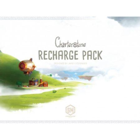 Charterstone Recharge Pack 契約石  香港桌遊天地Welcome On Board Hong Kong  策略遊戲 文明 城市建造