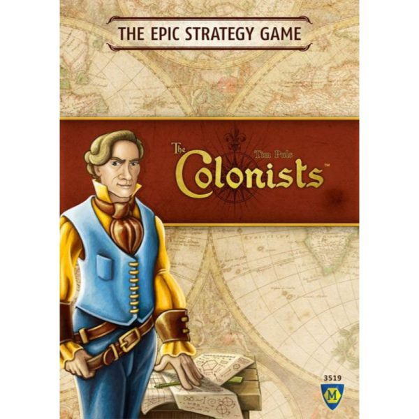 Cover:The Colonists|香港桌遊天地Welcome On Board Game Club Hong Kong|重度策略遊戲Heavy Strategy 1-4人