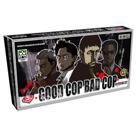 Cover:無間風雲Good Cop Bad Cop|香港桌遊天地Welcome on Board Game Club|推理臥底派對聚會遊戲Party Game4-8人