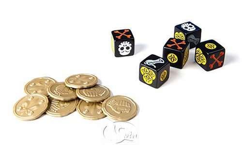 金金樂盜King's Gold|香港桌遊天地Welcome On Board Game Club Hong Kong|海盜主題家庭親子派對聚會遊戲2-6人