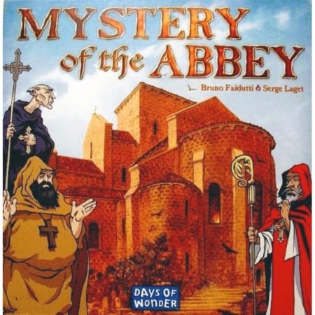 Cover: Mystery of the Abbey |香港桌遊天地 Welcome On Board Game Club Hong Kong|中世紀法國謀殺案推理解謎遊戲3-6人