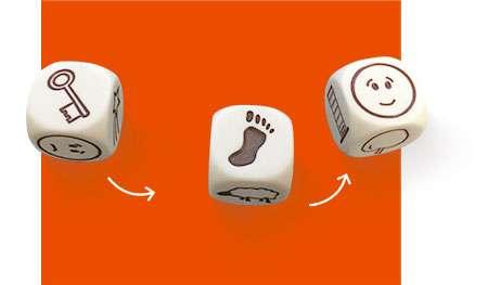 故事骰Rory's Story Cubes|香港桌遊天地Welcome On Board Game Club Hong Kong|想像力派對聚會遊戲Party Game1-8人