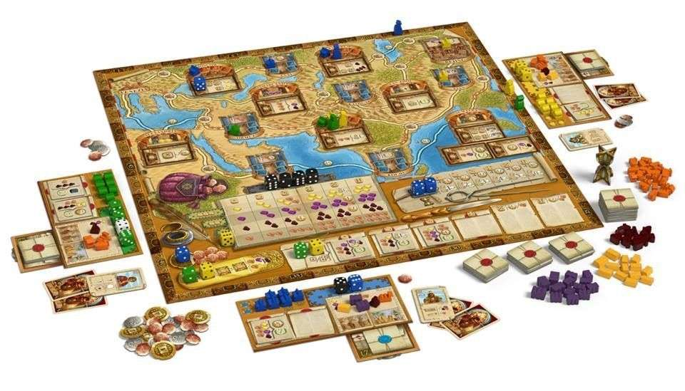 Content:馬可波羅The Voyages of Marco Polo 香港桌遊天地Welcome On Board Game Club Hong Kong 經濟類中度策略遊戲2-4人