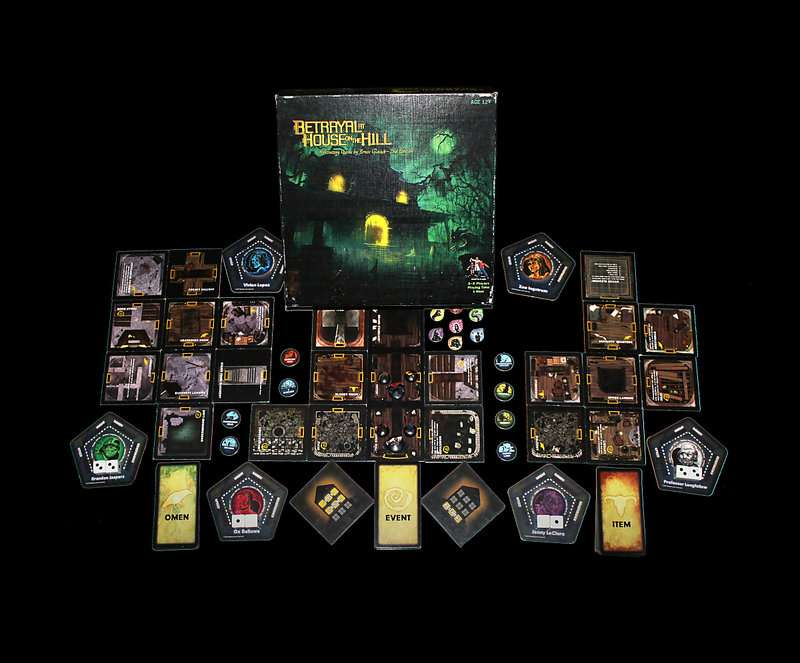 Content:Betrayal at House on the Hill山中小屋 香港桌遊天地Welcome On Board Game Club 美式驚慄電影角色扮演遊戲3-6人