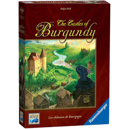 Box: The Castle of Burgundy 勃根第城堡 |香港桌遊天地Welcome on Board Game Club|Family Strategy Game法國中世紀貴族勢力家庭中度策略遊戲