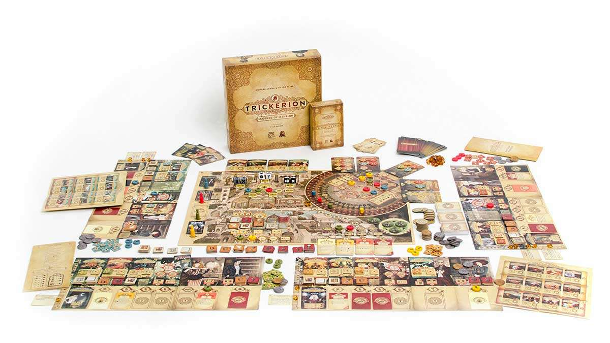 Trickerion: Legends of Illusion   香港桌遊天地 Welcome on Board Game Club Hong Kong   中度重度策略 Strategy Game