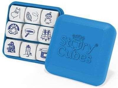 故事骰姆明特別版Rory's Story Cubes:Moomin|香港桌遊天地Welcome On Board Game Club Hong Kong|想像力講故事派對聚會遊戲Party Game1-8人